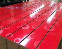 Slotted /Grooved MDF board