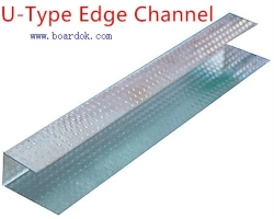 Ceilling edge channel